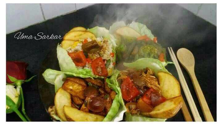 Chinese Sizzler Platter