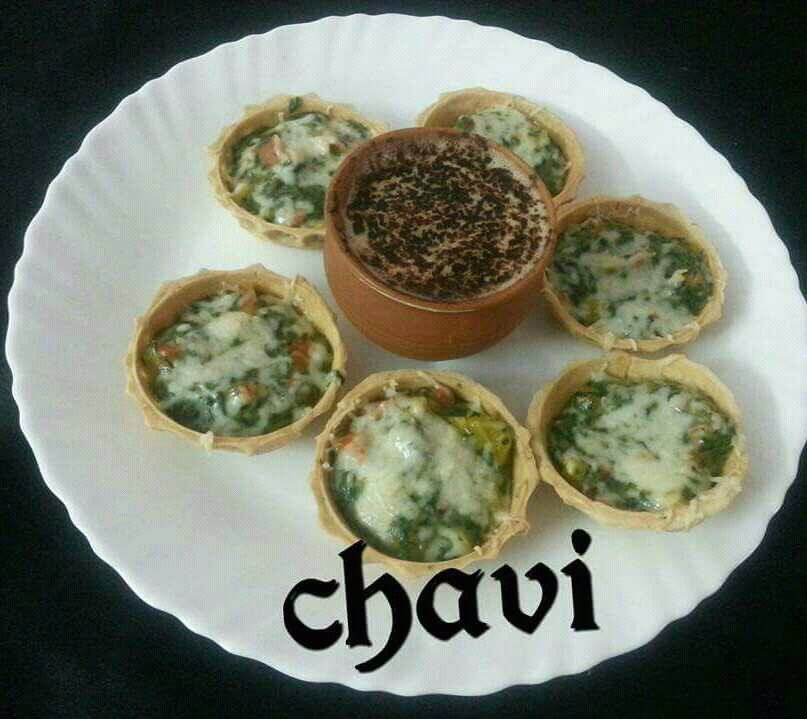EGGLESS QUICHE WITH HOT COFFEE