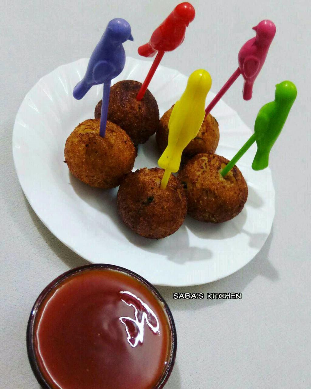 Potato Lollipop