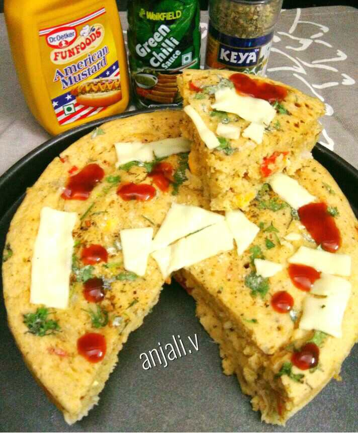 Cheese Pizza cake