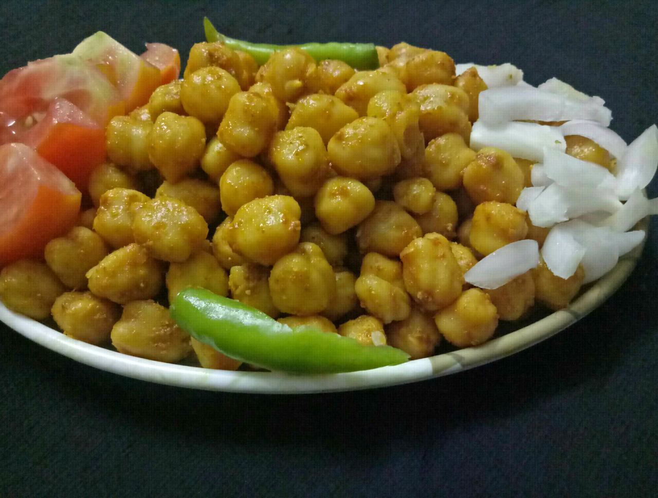 Masala Chole Chat
