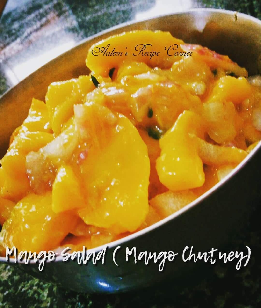 Ripe Mango Chutney | Mango Salad