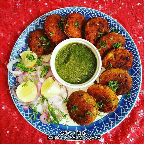 Kathal Ke Shami Kabab - Raw Jackfruit Patties