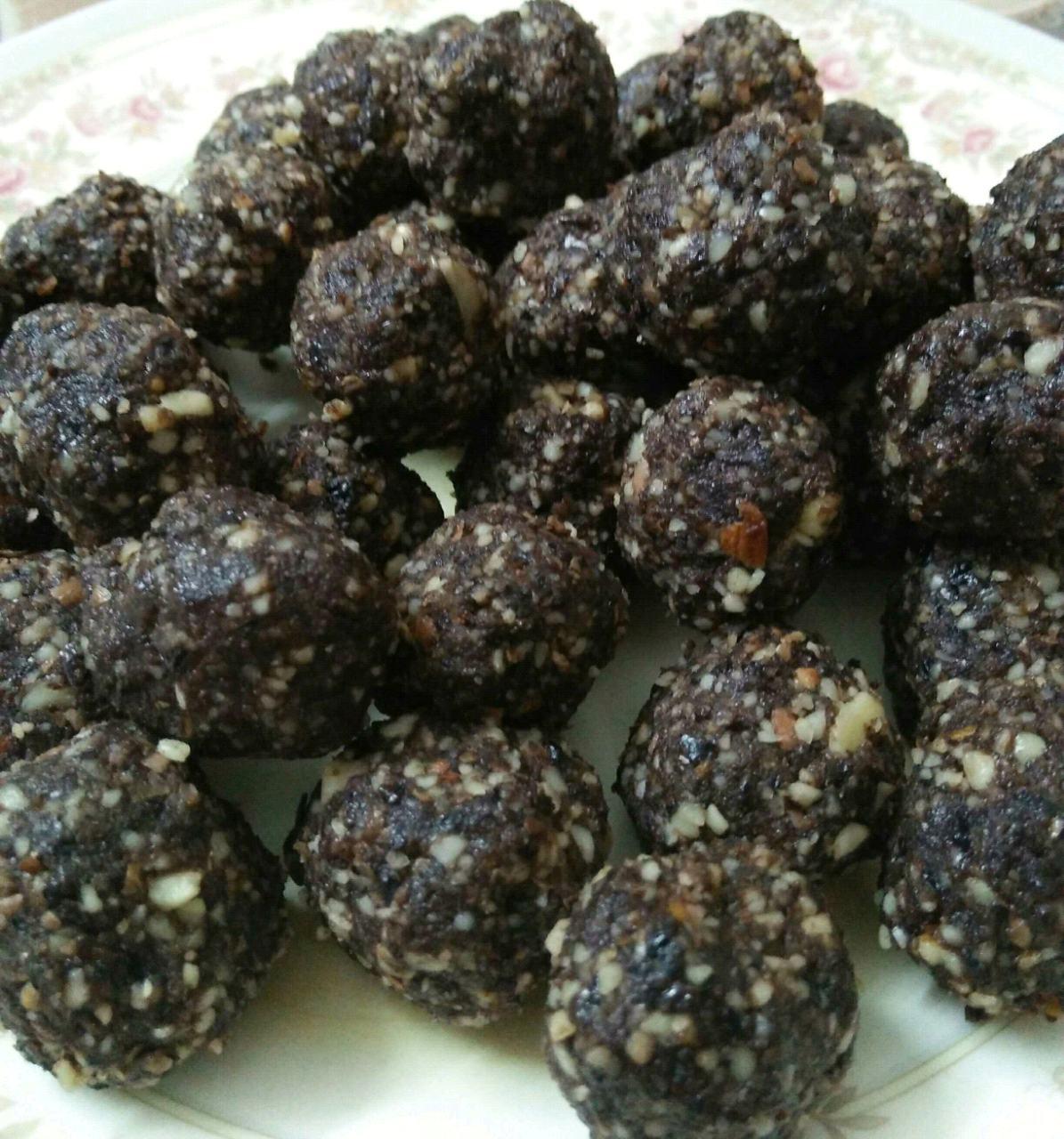 Chocolate Nuts Ladoo