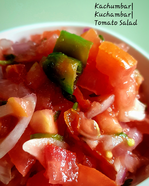 Kachumbar  Kuchambar  Tomato Salad