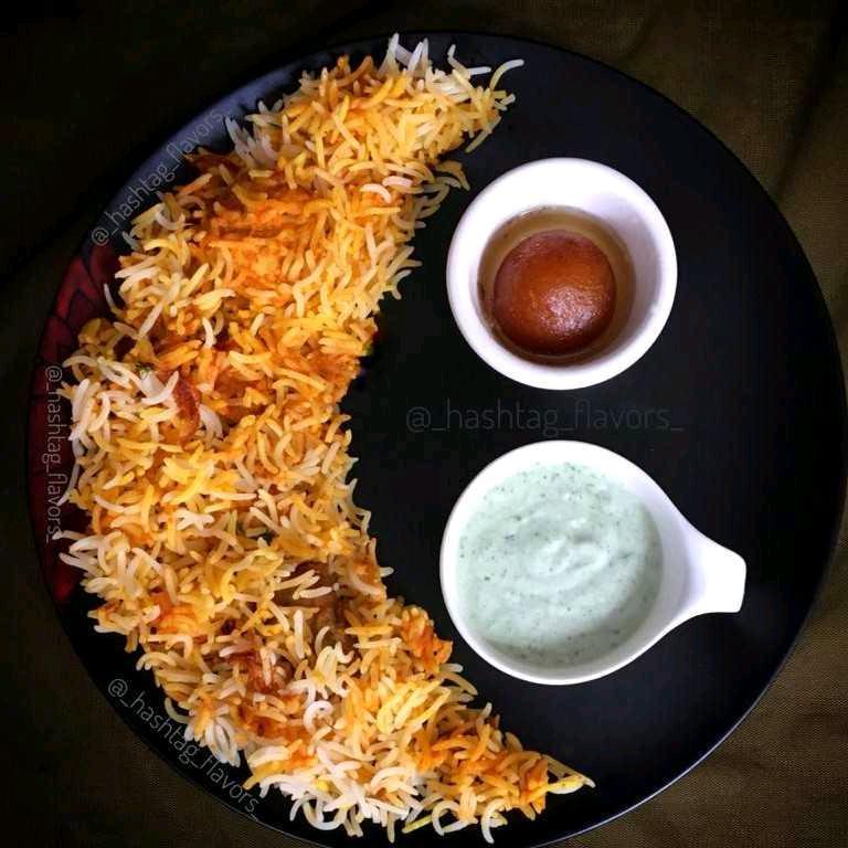 Chicken Seekh Kabab Biryani