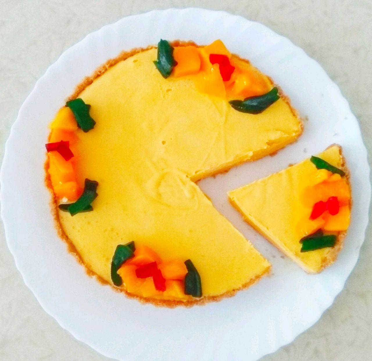No Bake Mango Pie