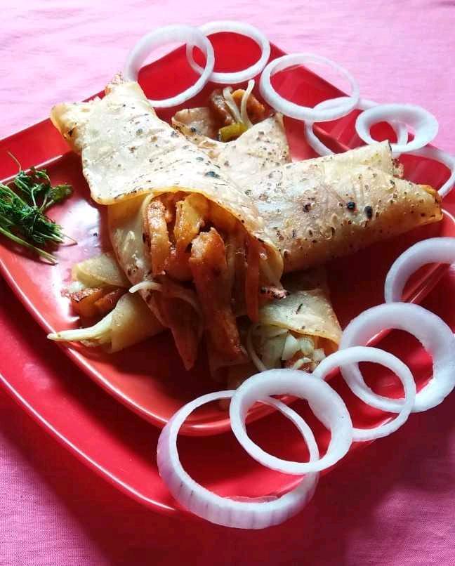 Honey Garlic Potato Franky