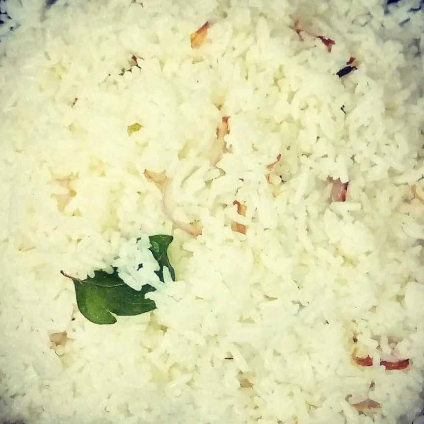 Ghee Rice From Leftover Rice