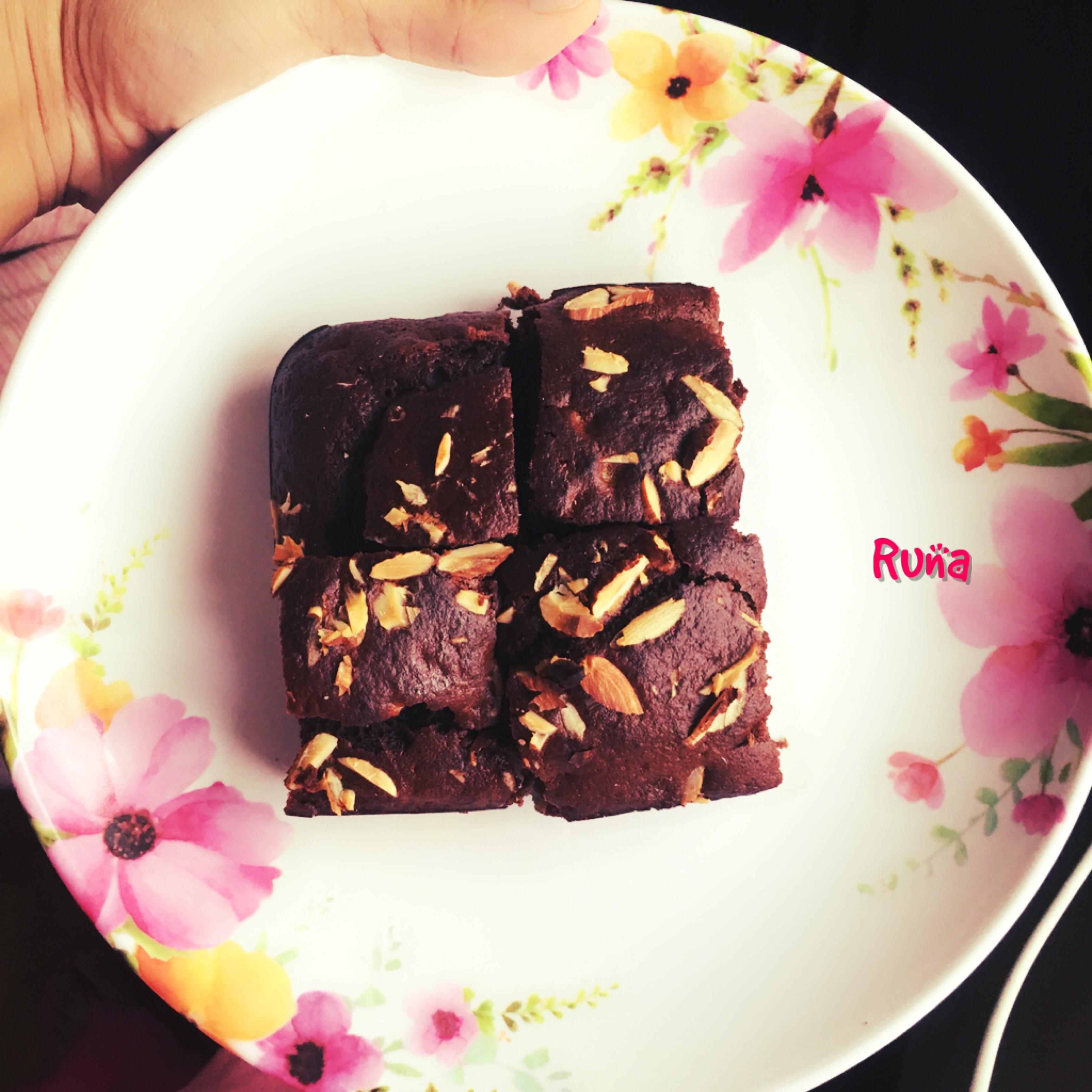 Sugarfree Oats-Banana Brownies