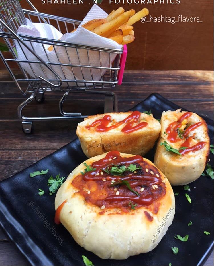 Chicken Pizza buns