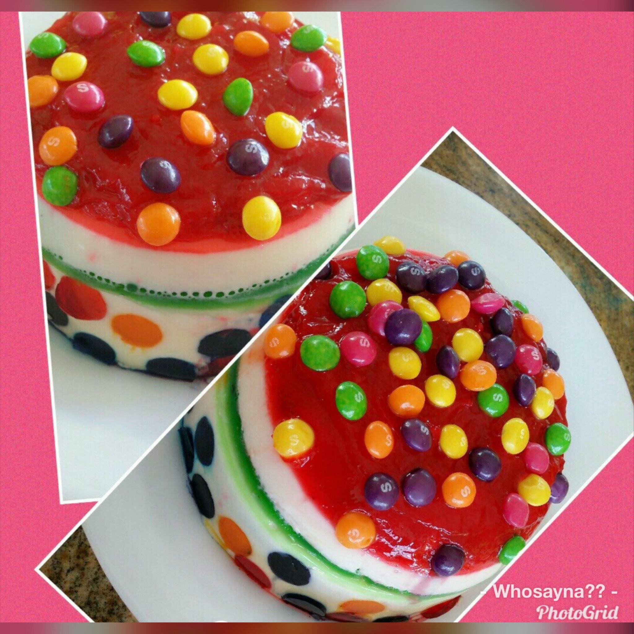 Whosayna's Skittles Fruitty Pudding