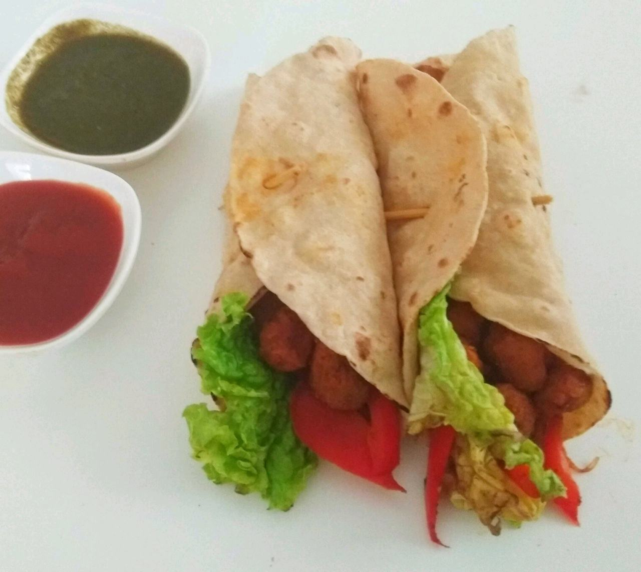 Soya Chunks Wrap