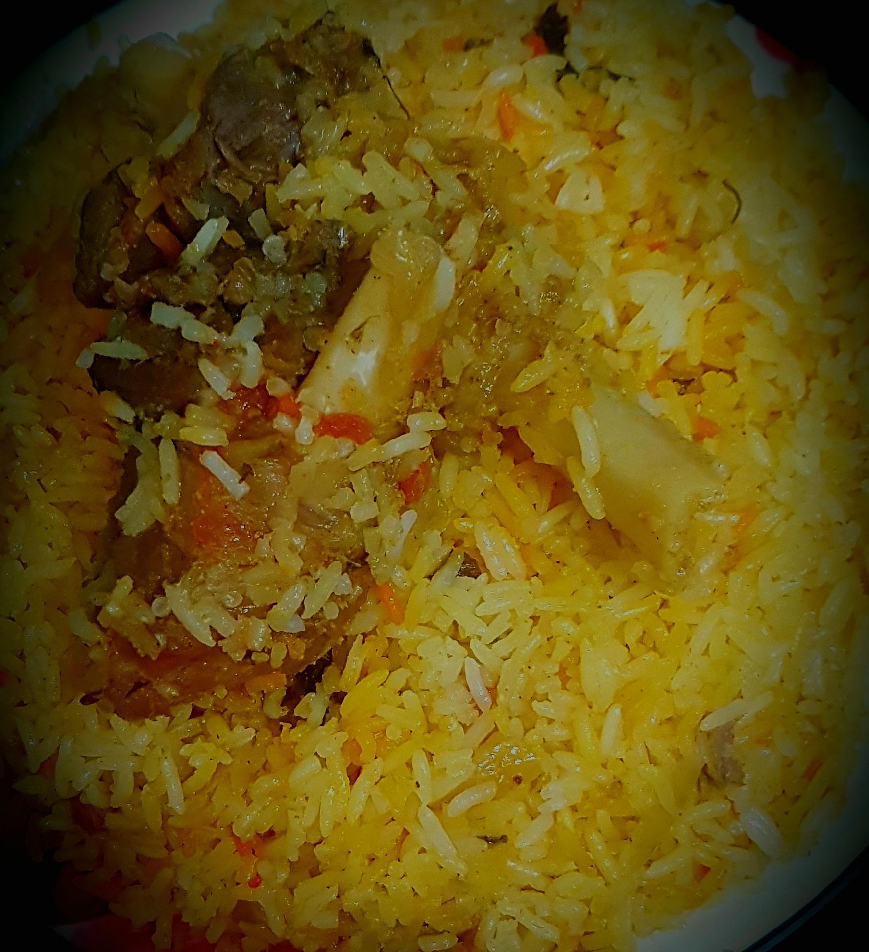 Spicy Dum Mutton Biryani