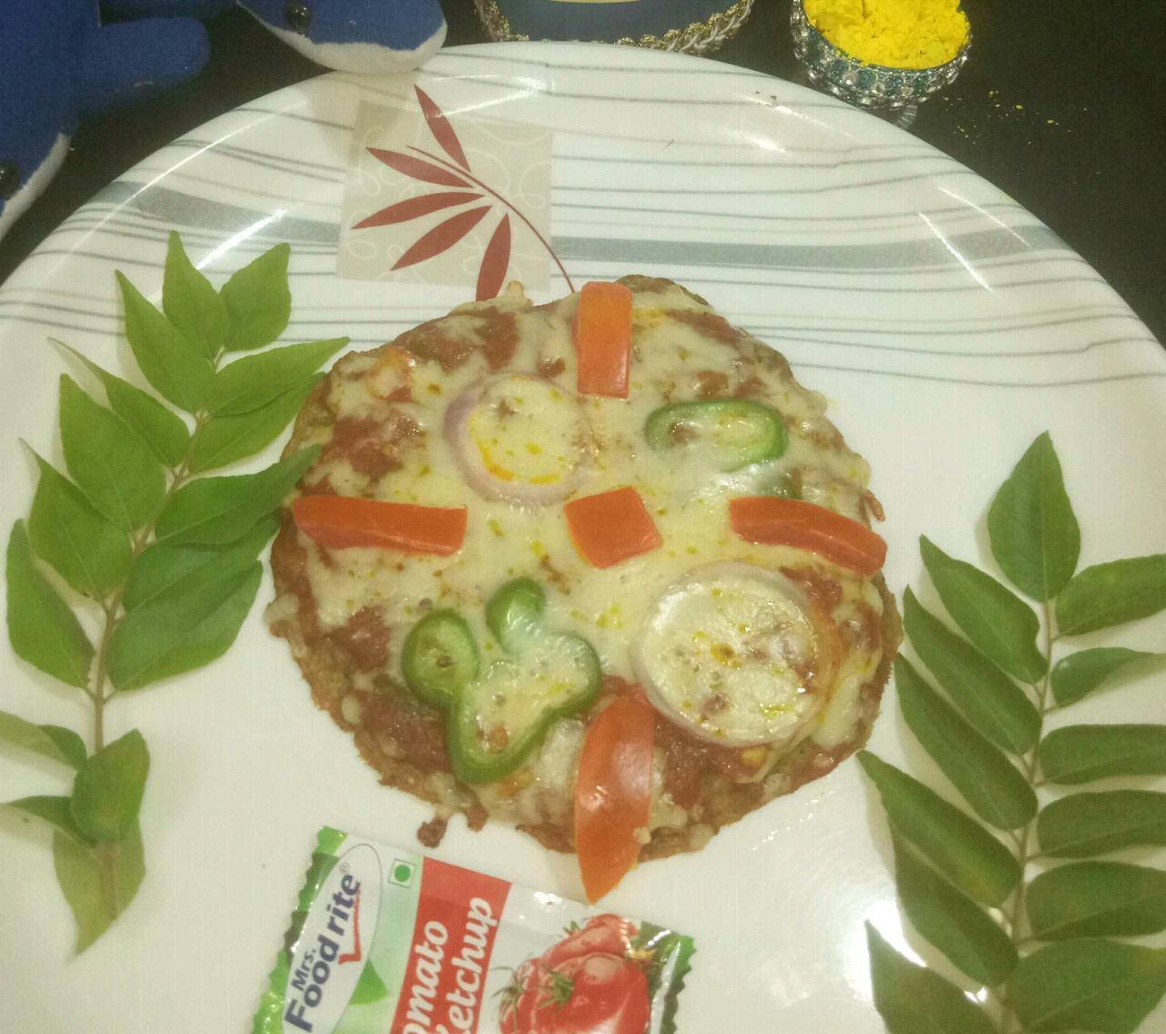 Mini Moong Pizza