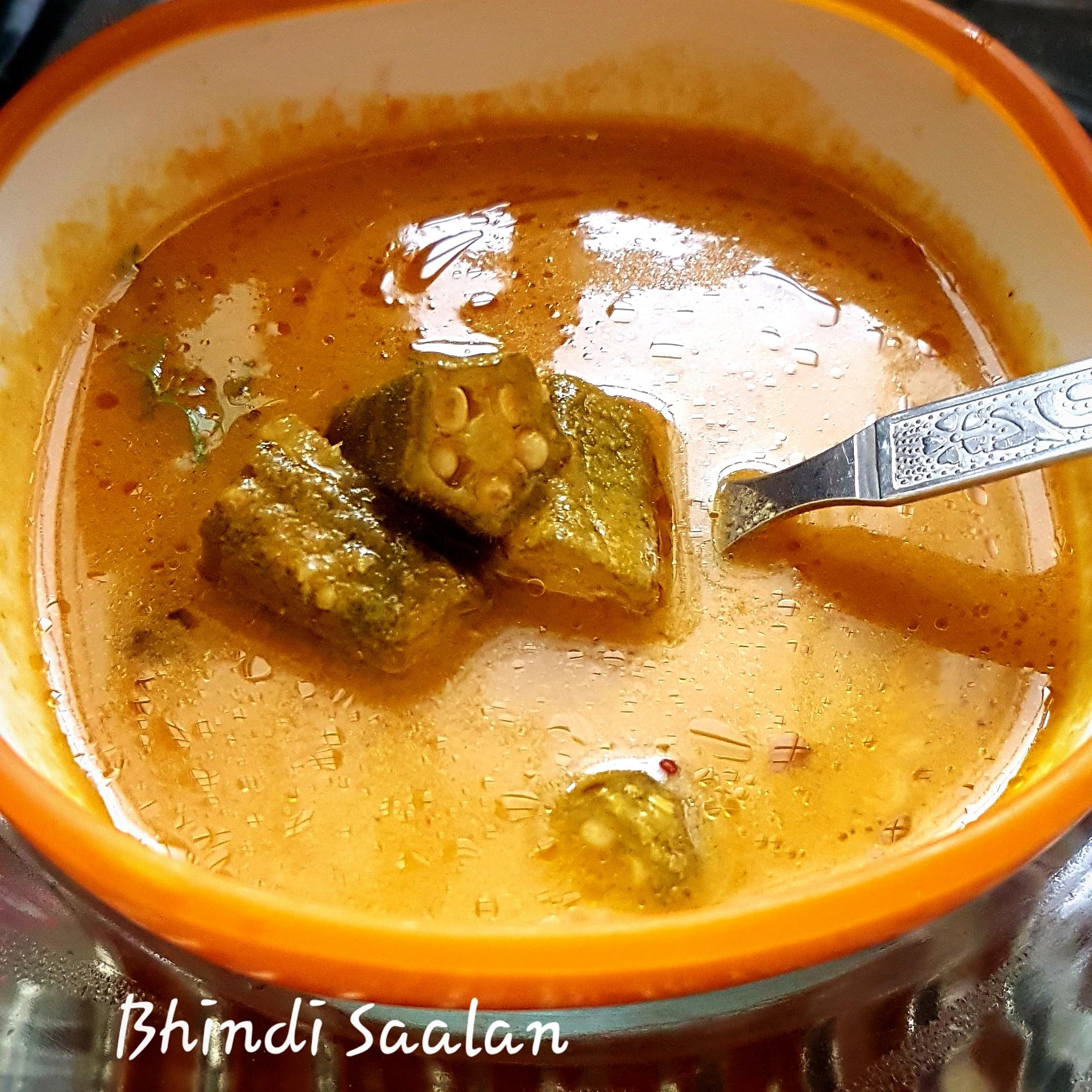 Bhindi Saalan   Okra curry