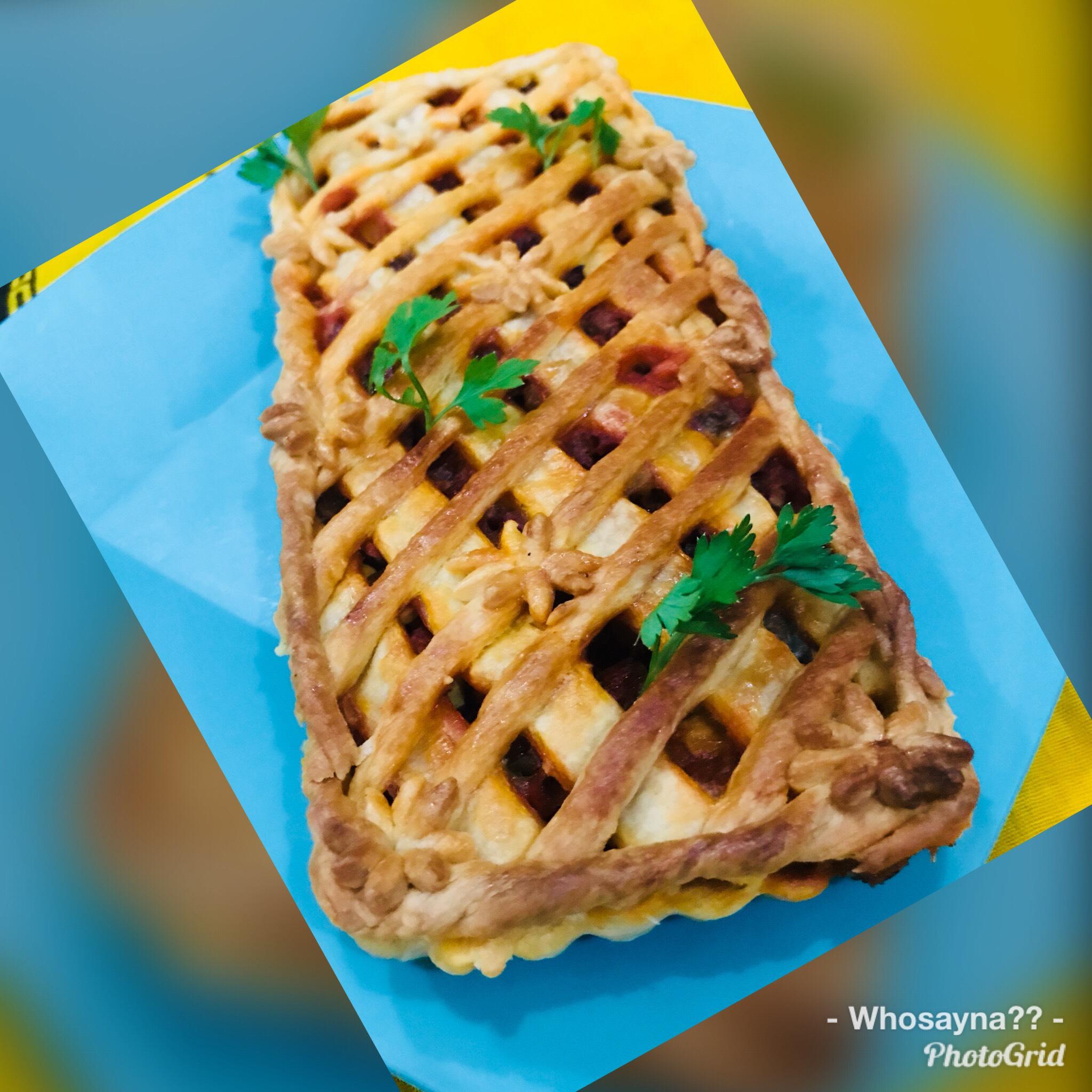 Whosayna's Steak n Veggies Pie