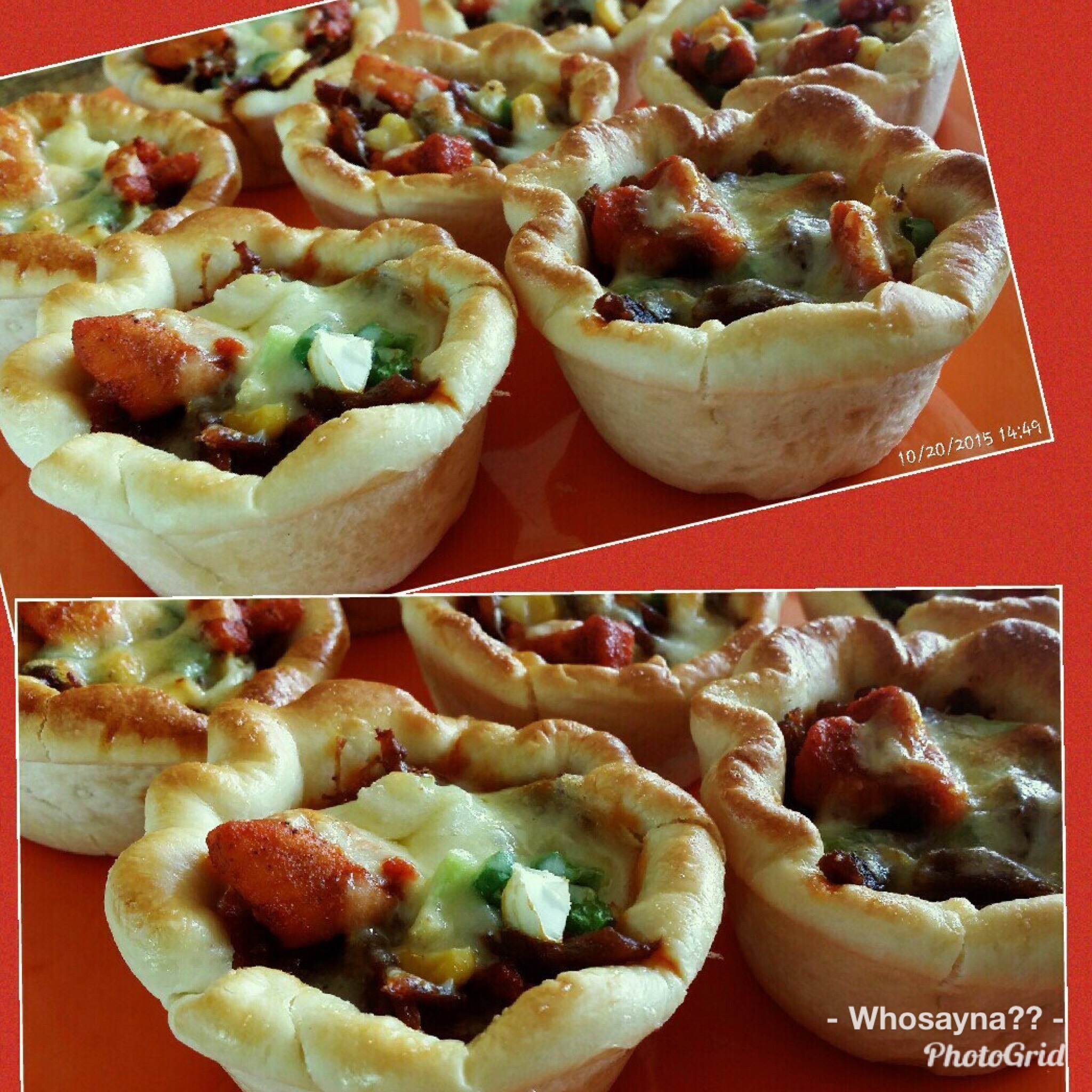 Whosayna's Popitz (Pizza Cuppies)