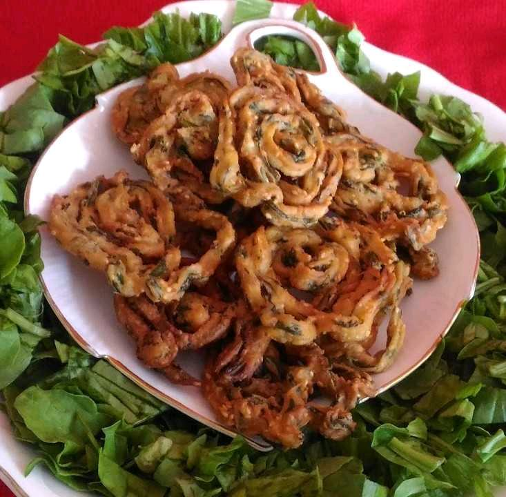 Spinach Butter Chakli