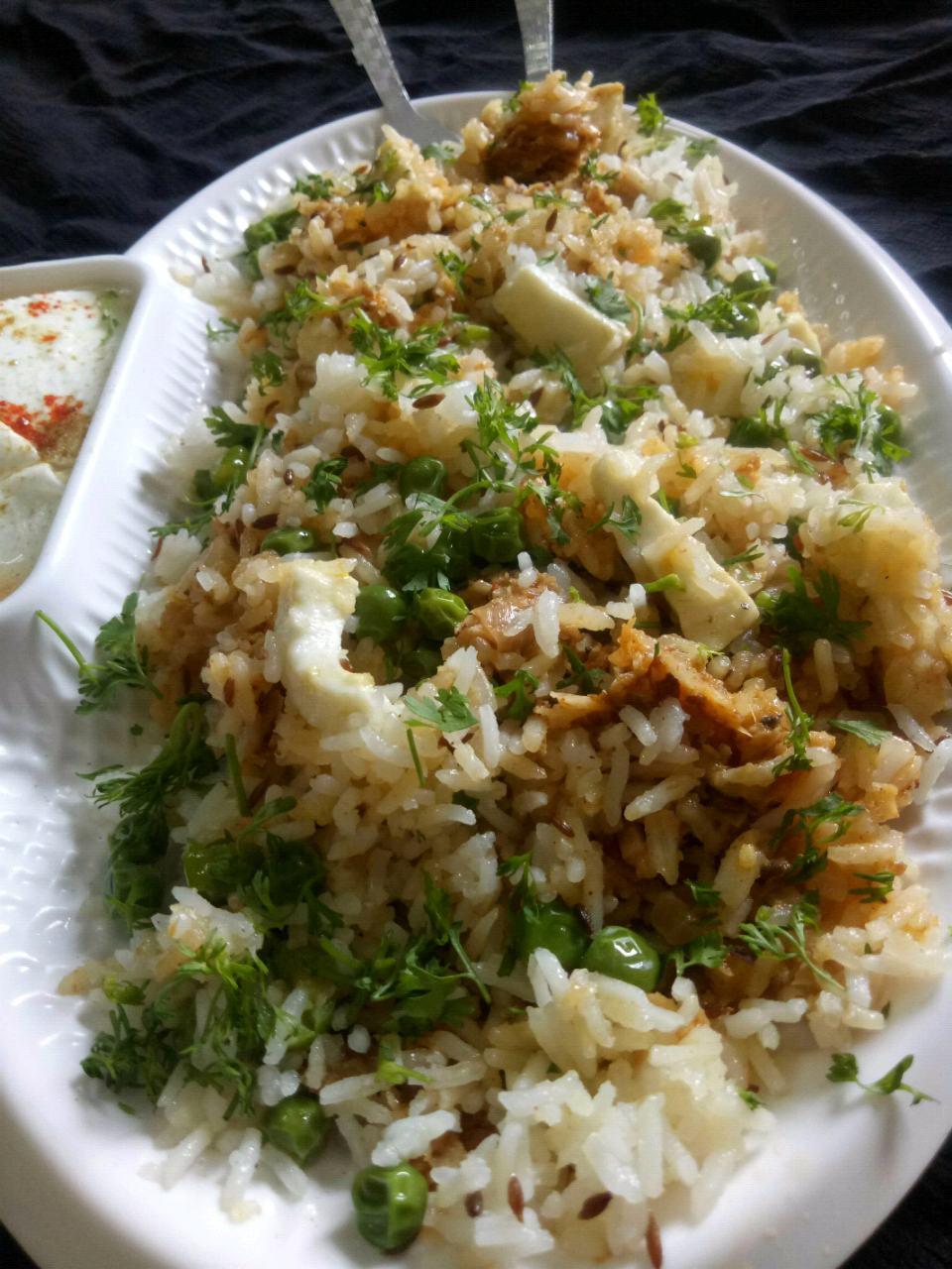 Baked Curry Biryani
