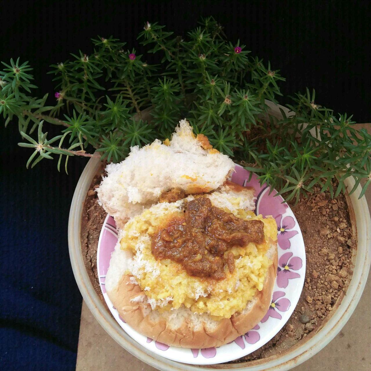 Mutton Burger Rice