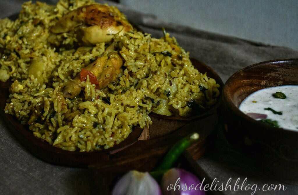 Thalappakatti Chicken Biriyani