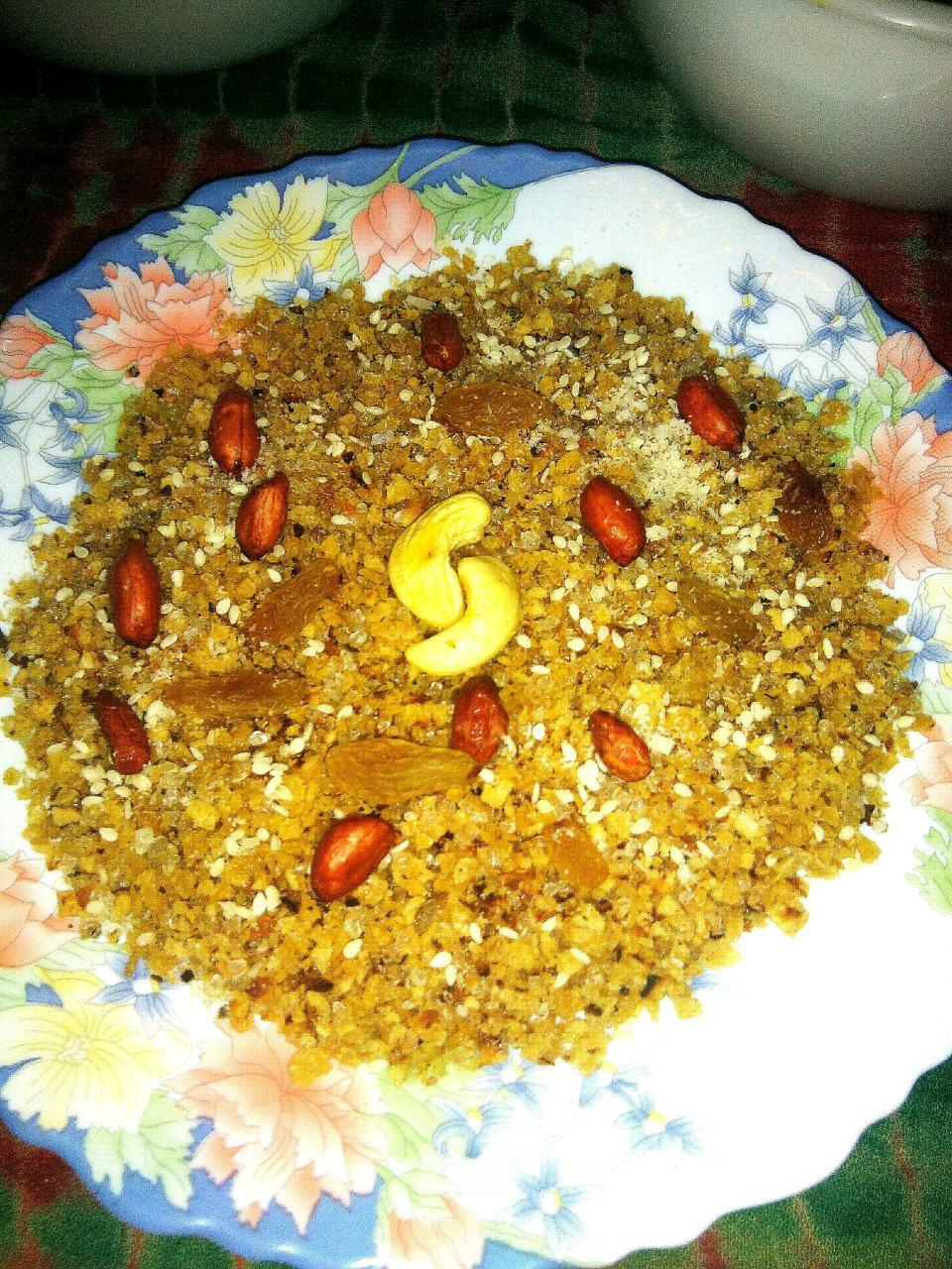 Dry fruit Choorie