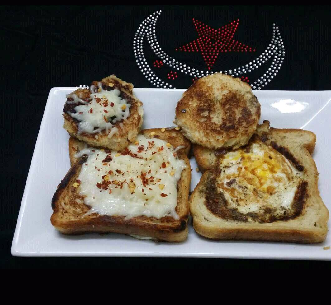 Egg/Cheese In A Hole/Basket