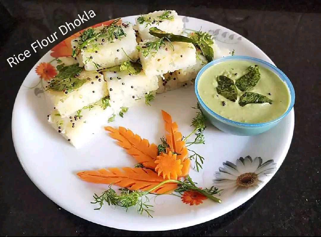 Rice Flour Dhokla