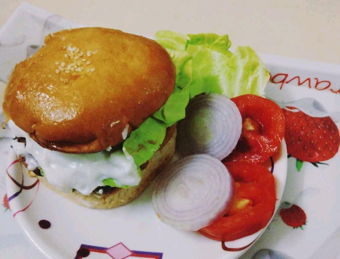 Chinese Tikki Burger