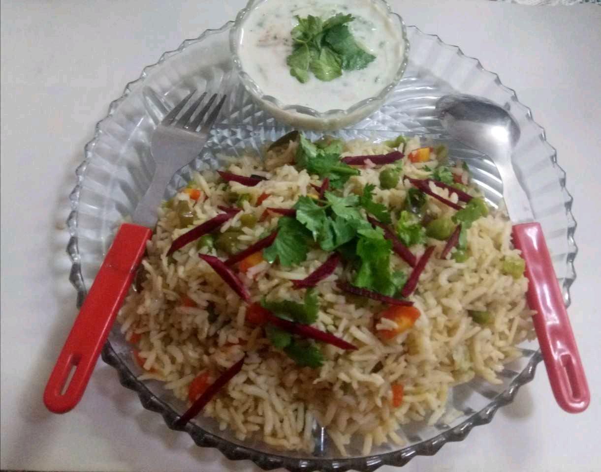 Brown Rice Veg Pulav
