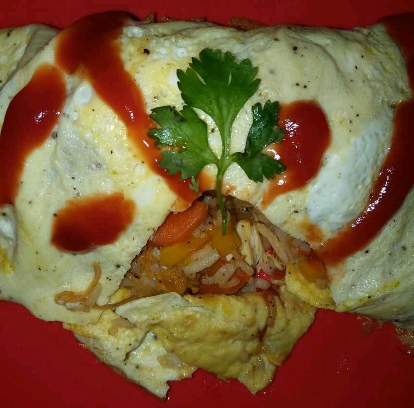 Omurice...A Japanese One Pot Meal