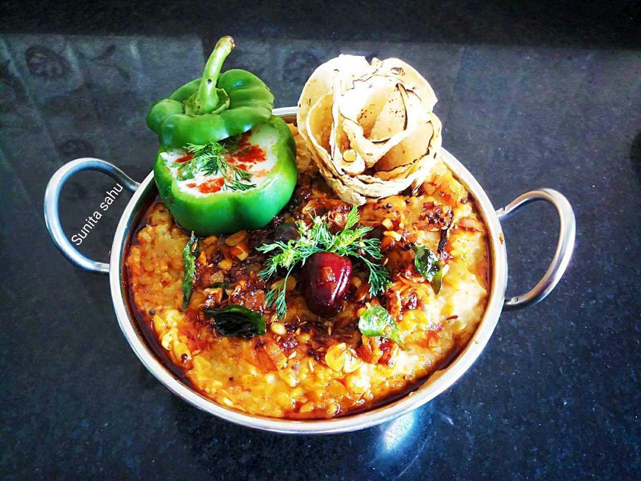 Vegetable Dal Khichdi