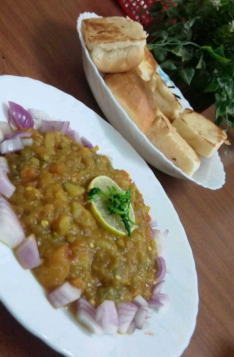 Pav Bhaji With A Twist