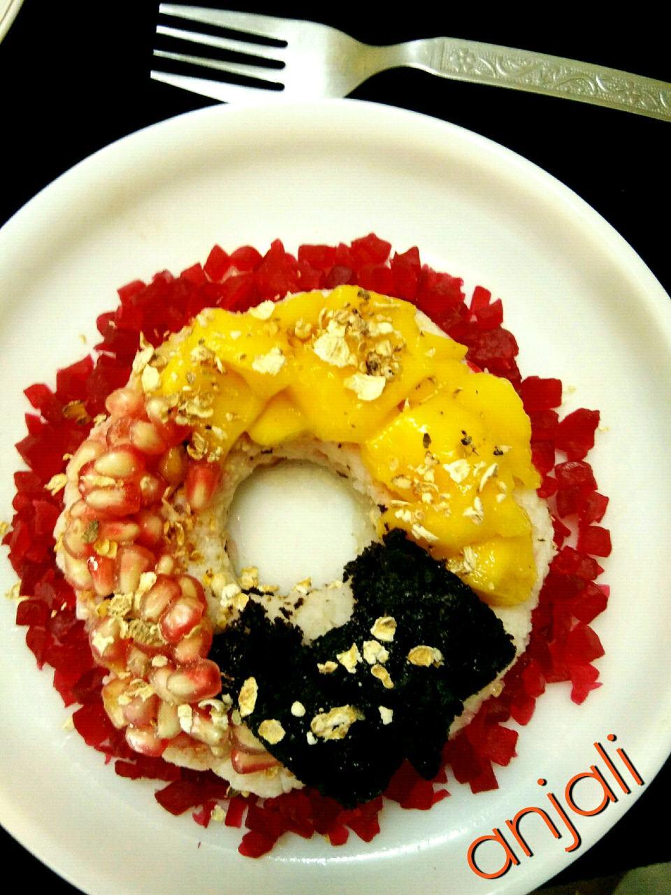 No Bake Rice Doughnut
