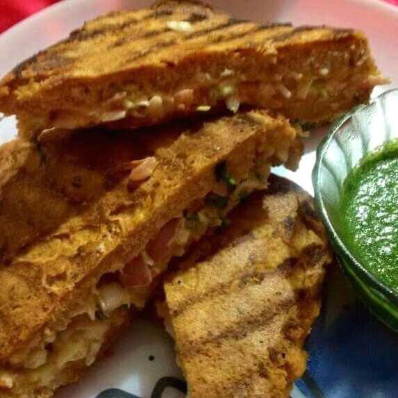 Grilled Mayo Bread Pakoda