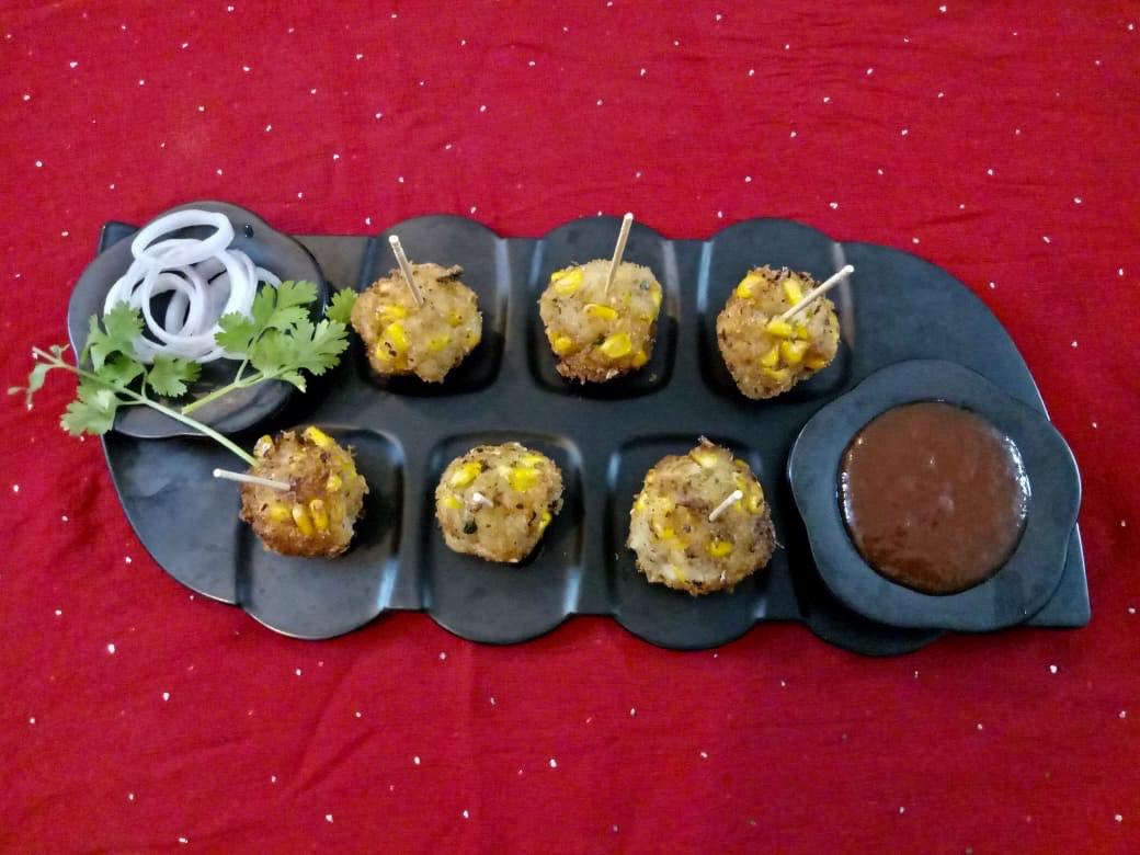 Creamy Rice Corn Cutlets