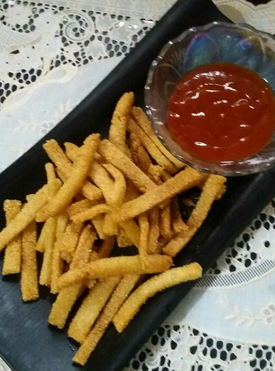 No Potatoes French Fries/Semolina Fries