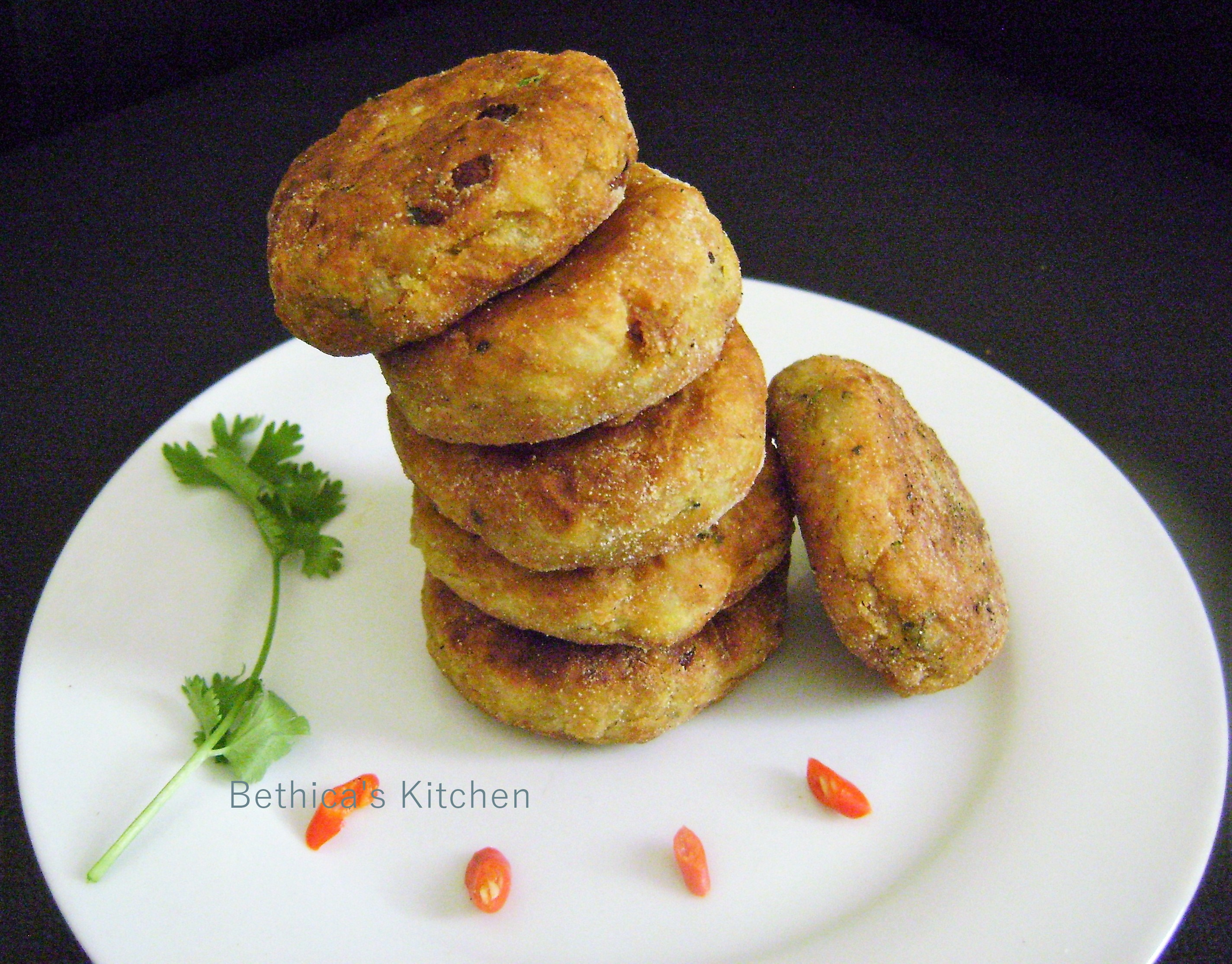 Arbi (Colocasia) Cutlet