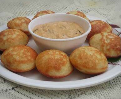 cheese chutney stuffed mixed pulses appe