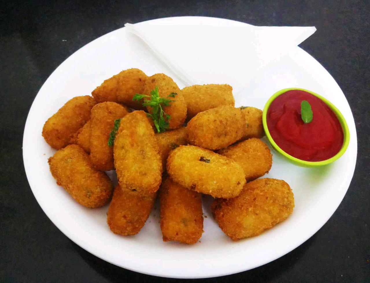 Leftover Idli Nuggets