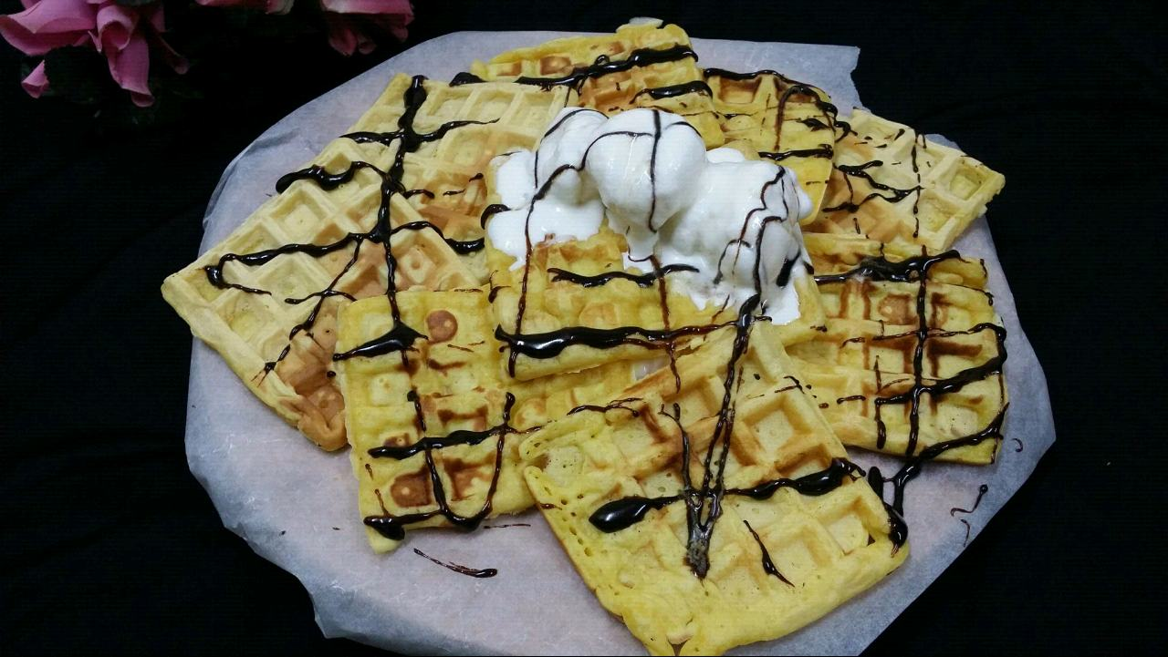 Custard Waffles