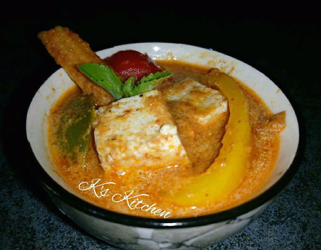 Tofu Paneer - N Veg Thai Red Curry