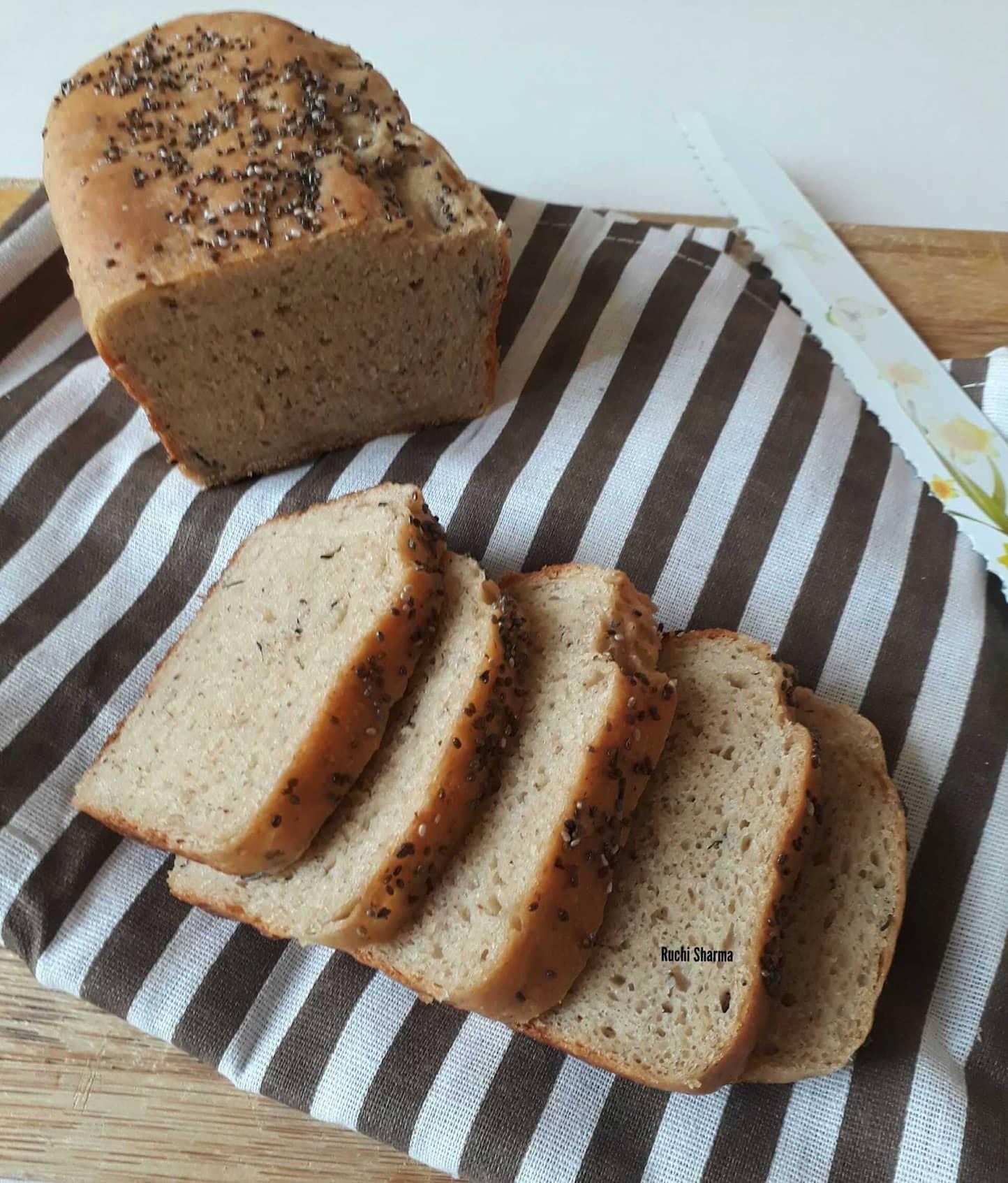 Paneer Bread Loaf