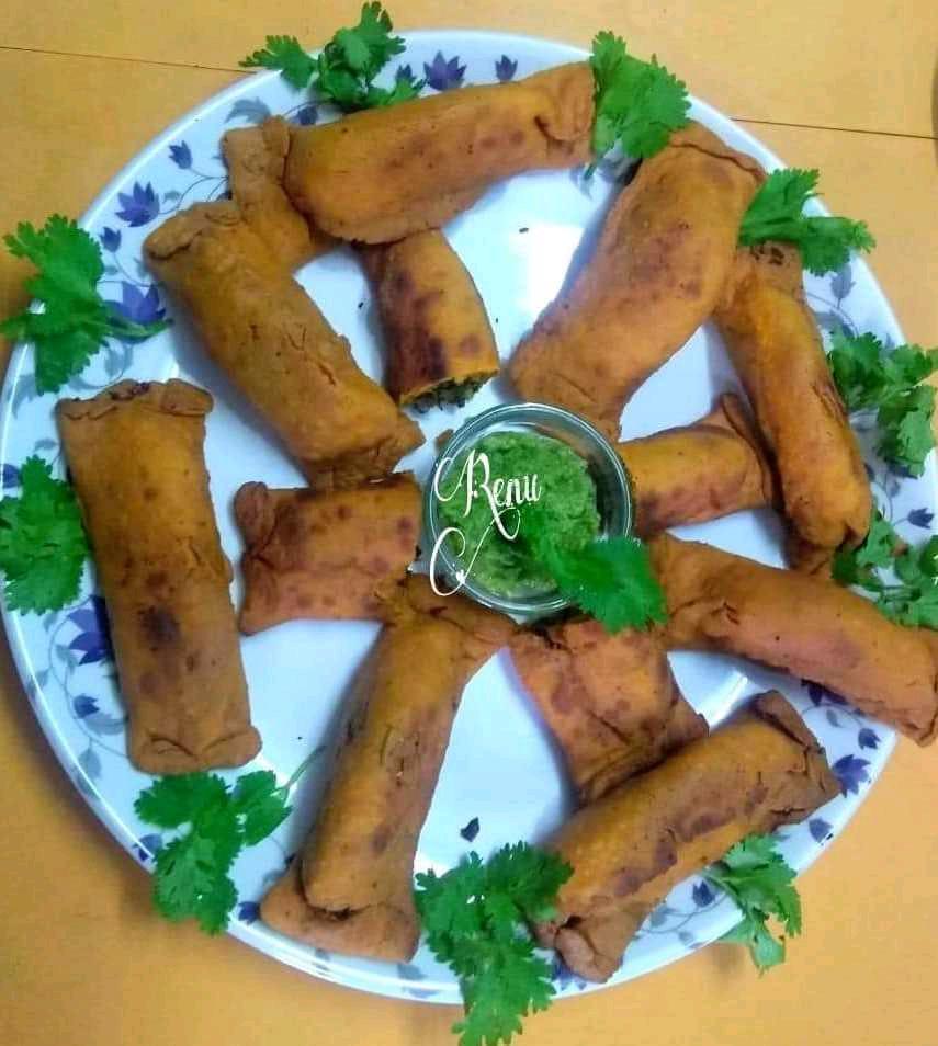 Puda chi Vadi  (Kothimbir Vadi/ Sambar Badi) Maharashtrian Speciality