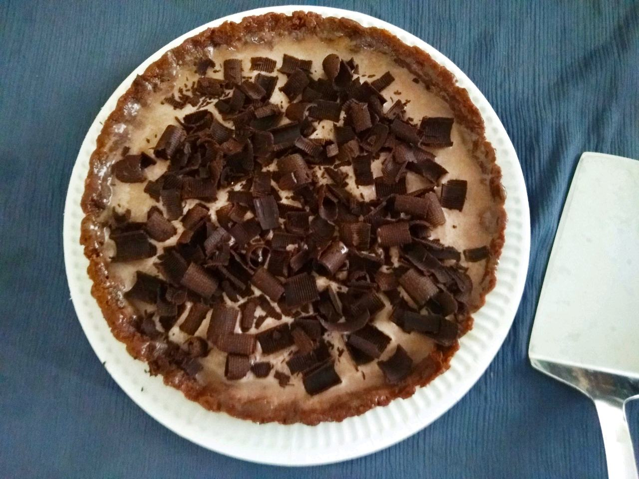 Chocolate Chip Ice-cream Pie