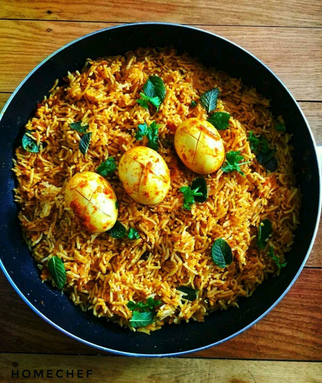 Kerala Style Egg Biriyani