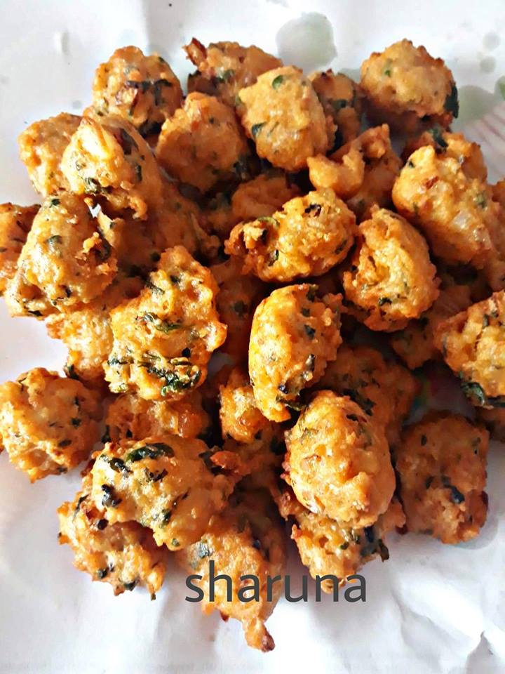 Easy and quick pakora made with left over rice