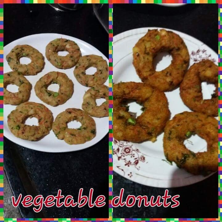 Vegetable donuts