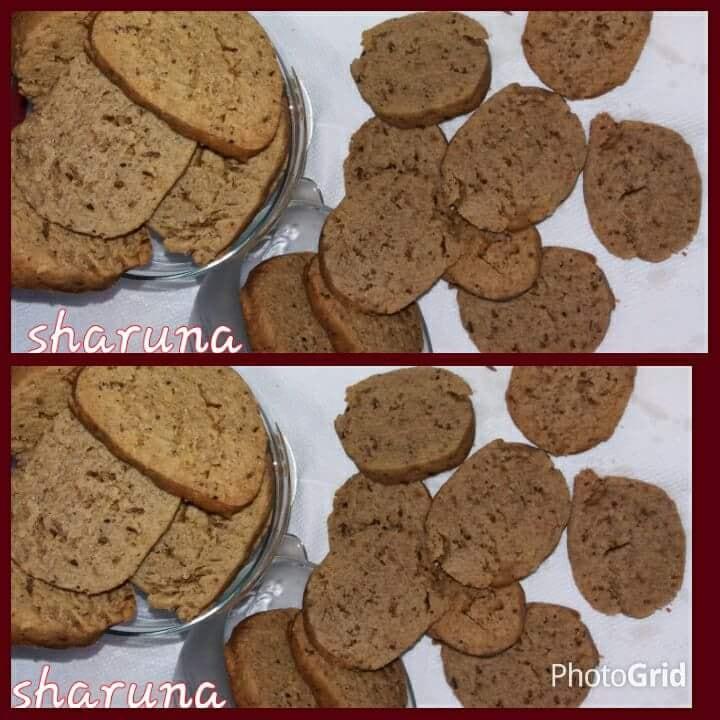 Multigrain cheese cookies
